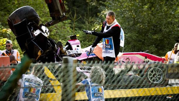 Formel-2-Pilot stirbt nach heftigem Unfall
