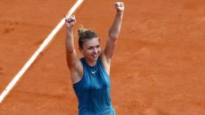 Halep gewinnt die French Open