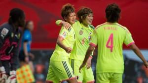 Titelverteidiger Japan als erstes Team im Achtelfinale