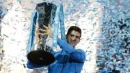 Djokovic krönt ein unglaubliches Jahr