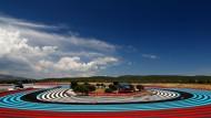 Riesige Auslaufflächen, enges Regelwerk: Vettel (im roten Ferrari) und andere Formel-1-Piloten fühlen sich gegängelt, nicht nur in Le Castellet.