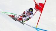 Marcel Hirscher gewann im Riesenslalom den Titel