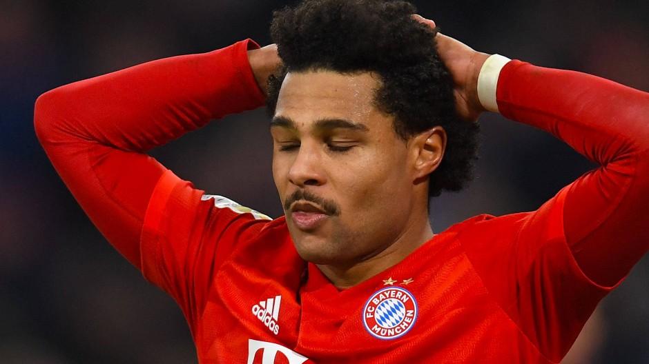 Augen zu und durch: der FC Bayern und Serge Gnabry gegen Leverkusen