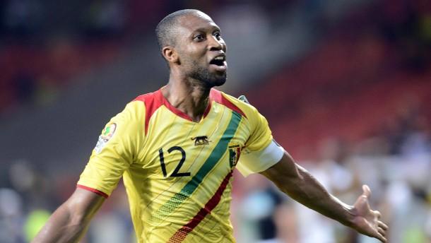 Ein Symbol des malischen Fußballs: Kapitän Seydou Keita
