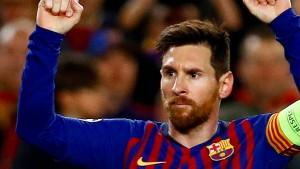 Messis imposante Antwort auf Ronaldo