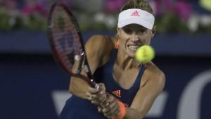 Kerber verliert den Spitzenplatz der Tenniswelt