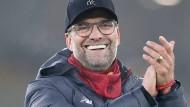 Am Ende lachen wieder Jürgen Klopp und der FC Liverpool, auch nach dem Spiel in Wolverhampton.