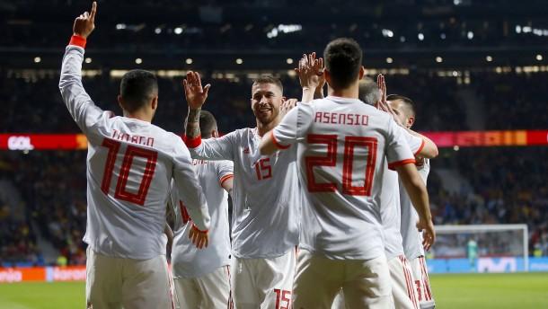Spanien düpiert Argentinien