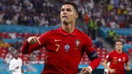 Ali Daei gratuliert Cristiano Ronaldo