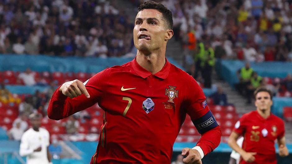 109 Tore für Portugal, alleine fünf schon bei dieser EM: Cristiano Ronaldo