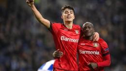 Leverkusen setzt die Europareise fort