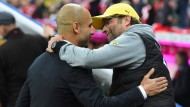 Klopp gegen Guardiola - Neues Taktik-Duell im Halbfinale