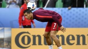 Ronaldos Bescheidenheit