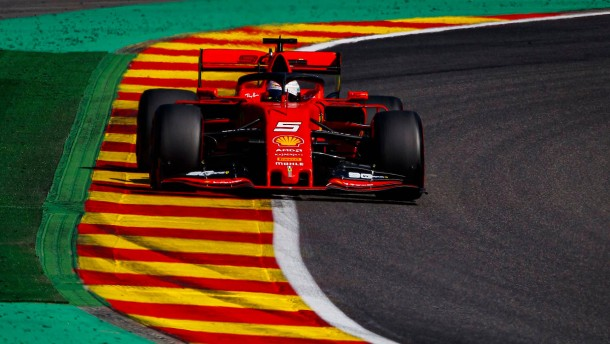 Ferrari in Geburtstagslaune