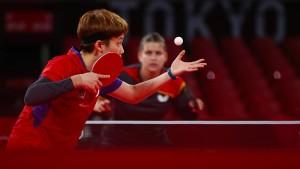 Tischtennis-Frauen verkrampft zu Platz vier