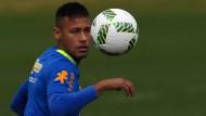 Neymar ist Brasiliens letzte Hoffnung