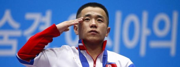 Dank dem Staatspräsidenten: Om Yun-chol führt seinen Weltrekord auf Kim Jong-un zurück