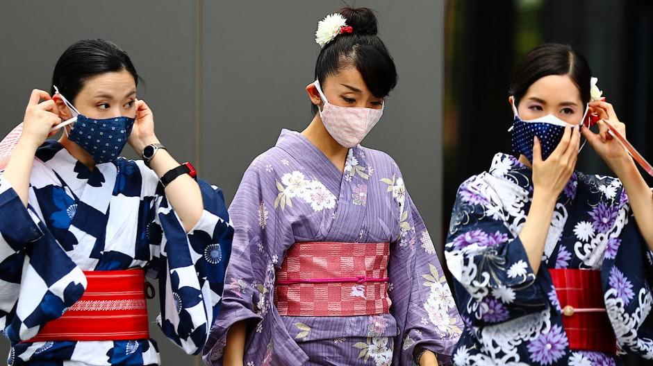 Das Coronavirus beschäftigt Japans Hauptstadt weiter.