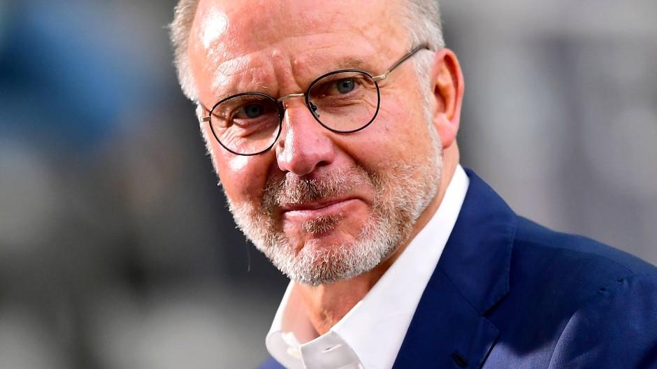 Diese Geschichte passt natürlich überhaupt nicht zu den Werten, die der FC Bayern vertritt: Karl-Heinz Rummenigge