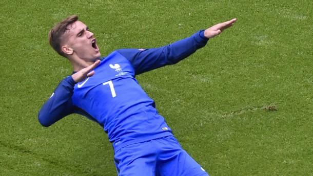 Griezmann Frankreich Fussball