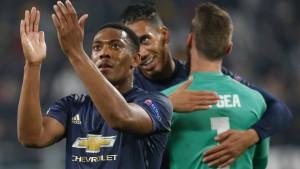 United gewinnt bei Juventus