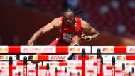 Olympiasieger Merritt schwer erkrankt