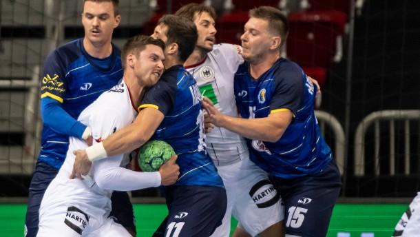 Glanzloser Sieg für deutsche Handballer