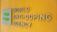 Das Logo der Welt-Anti-Doping-Agentur Wada
