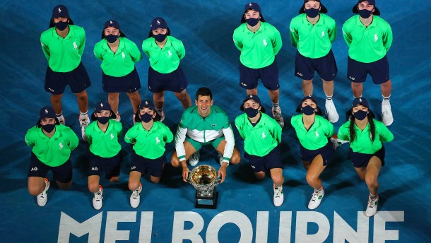 Das neunte Meisterstück des Novak Djokovic