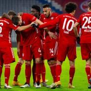 Alles auf einem Haufen: Jubelnde Bayern-Profis