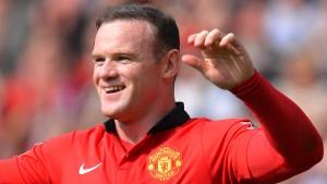 Rooney schießt sich für die Bayern warm