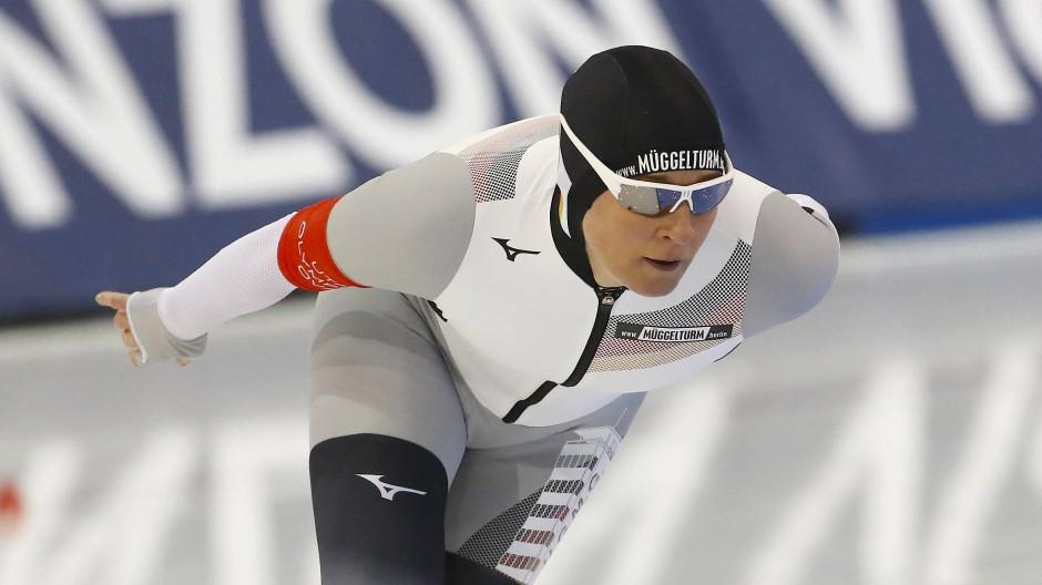 Claudia Pechstein verpasst den Finallauf bei der Mehrkampf-WM