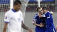 Färöer gewinnen in Griechenland