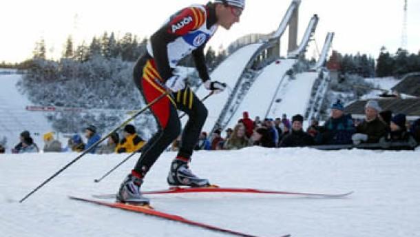 Ronny Ackermann holt auf im Weltcuprennen
