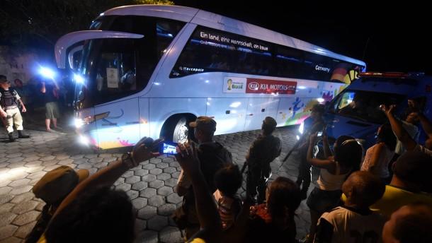 DFB-Team in Salvador angekommen