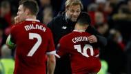 Durchgesetzt: Jürgen Klopp ist mit Liverpool weiter