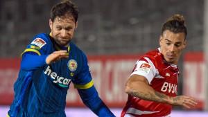 Würzburg trifft auch gegen neun Spieler nicht