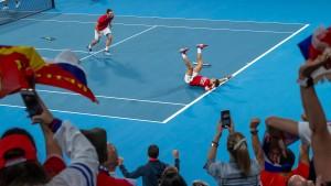 Ein unvergesslicher Abend für Novak Djokovic