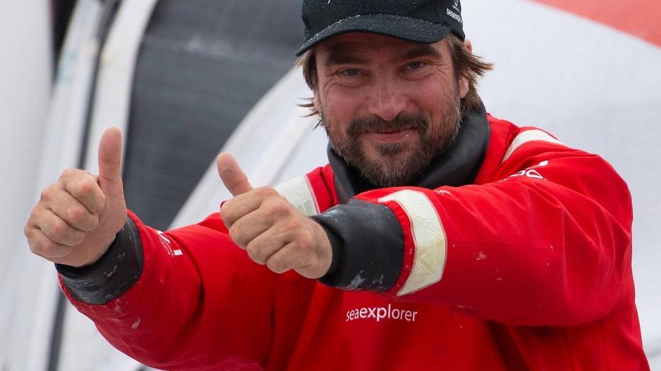 """""""Wir sind sehr glücklich, dass wir solide aufgestellt in die Zukunft segeln und über Jahre planen können"""": Boris Herrmann"""