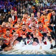 Leuchtendes Beispiel der Bundesliga: Die Berlin Volleys fühlen sich zu gut für den Rest.