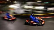 Rasant unterwegs: Kartfahren ist der Aufbausport für die Formel 1