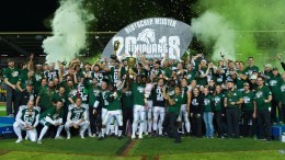 Einhörner im Glück im German Bowl gegen Frankfurt