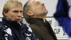 Nur Wolfsburg macht's den Bayern nach