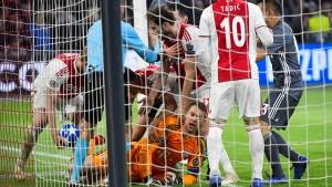 Fußball verrückt in Amsterdam