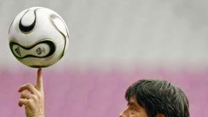 Bundestrainer Löw auf Tauchstation