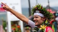 Wie schon 2015 holt sich Jan Frodeno auch in diesem Jahr den Sieg beim Ironman Hawaii.