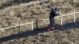 Wie lange geht Wintersport im Grünen noch gut?