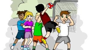Verführung zum Handball