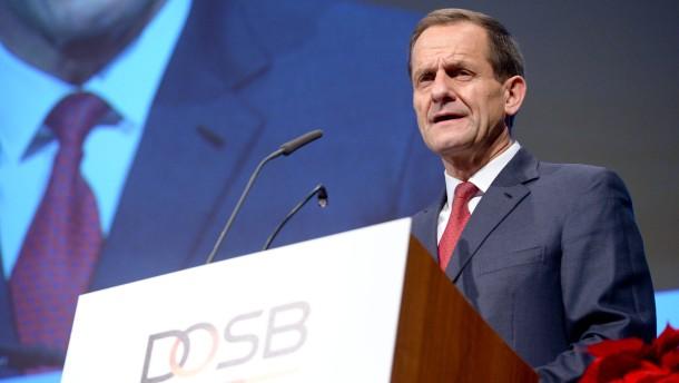 DOSB-Präsident erhebt schwere Vorwürfe