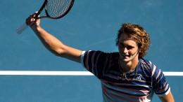 Das erste Grand-Slam-Halbfinale für Zverev